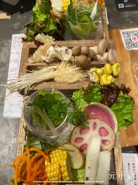 漂亮的蔬菜擺盤(多種角度)